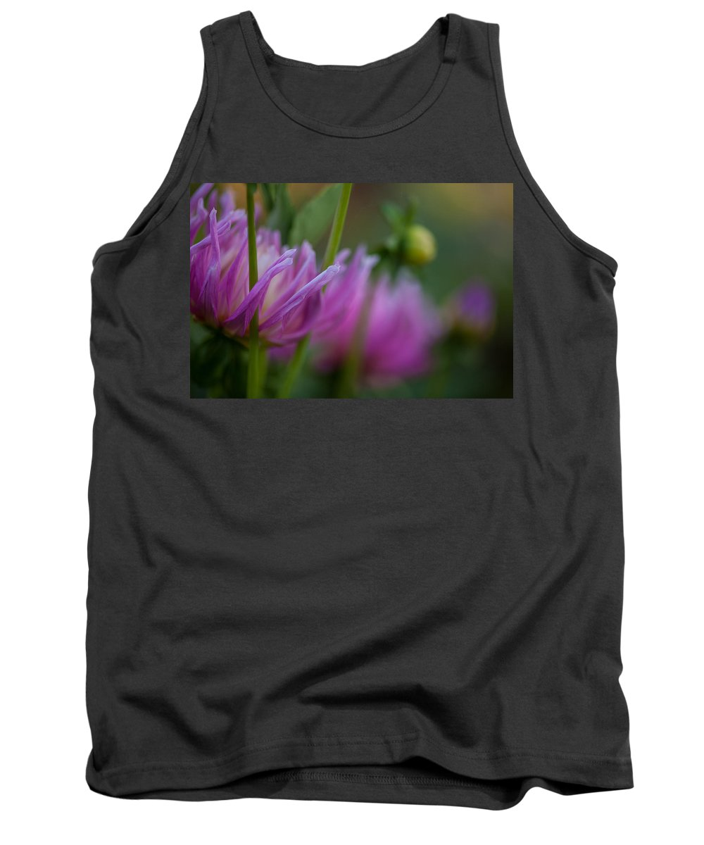 Flower Tank Top featuring the photograph Restrained by Mike Reid