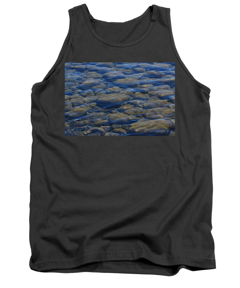 Tank Top featuring the photograph Riverbed by Joi Electa