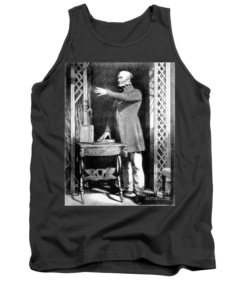 Science Tank Top featuring the photograph Robert Knox, Scottish Anatomist by Science Source
