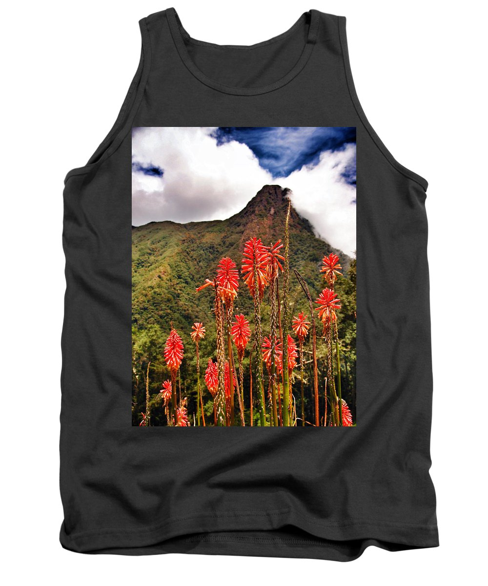 Rockets Red Glare Tank Top featuring the photograph Rocket's Red Glare by Skip Hunt