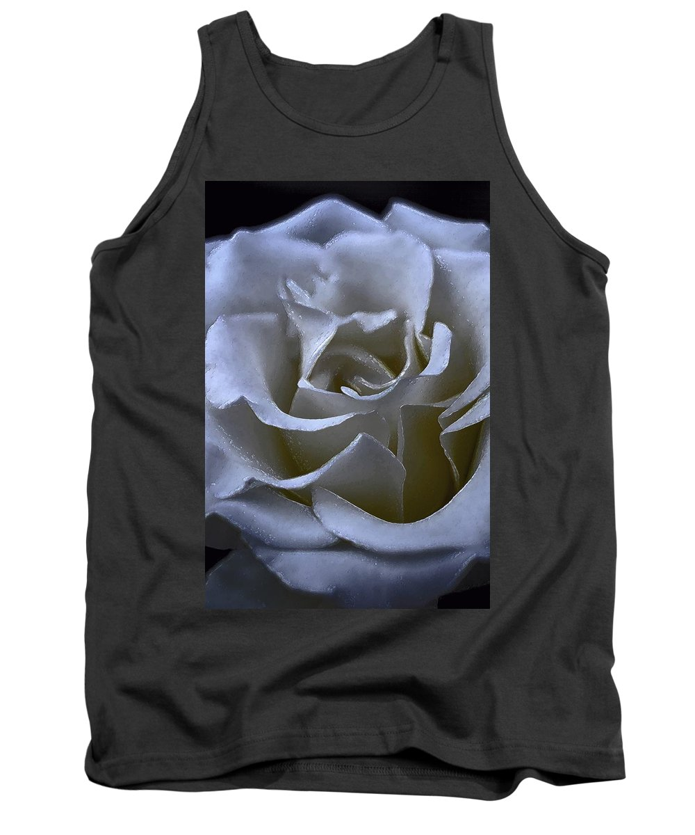 Floral Tank Top featuring the photograph Rose 156 by Pamela Cooper