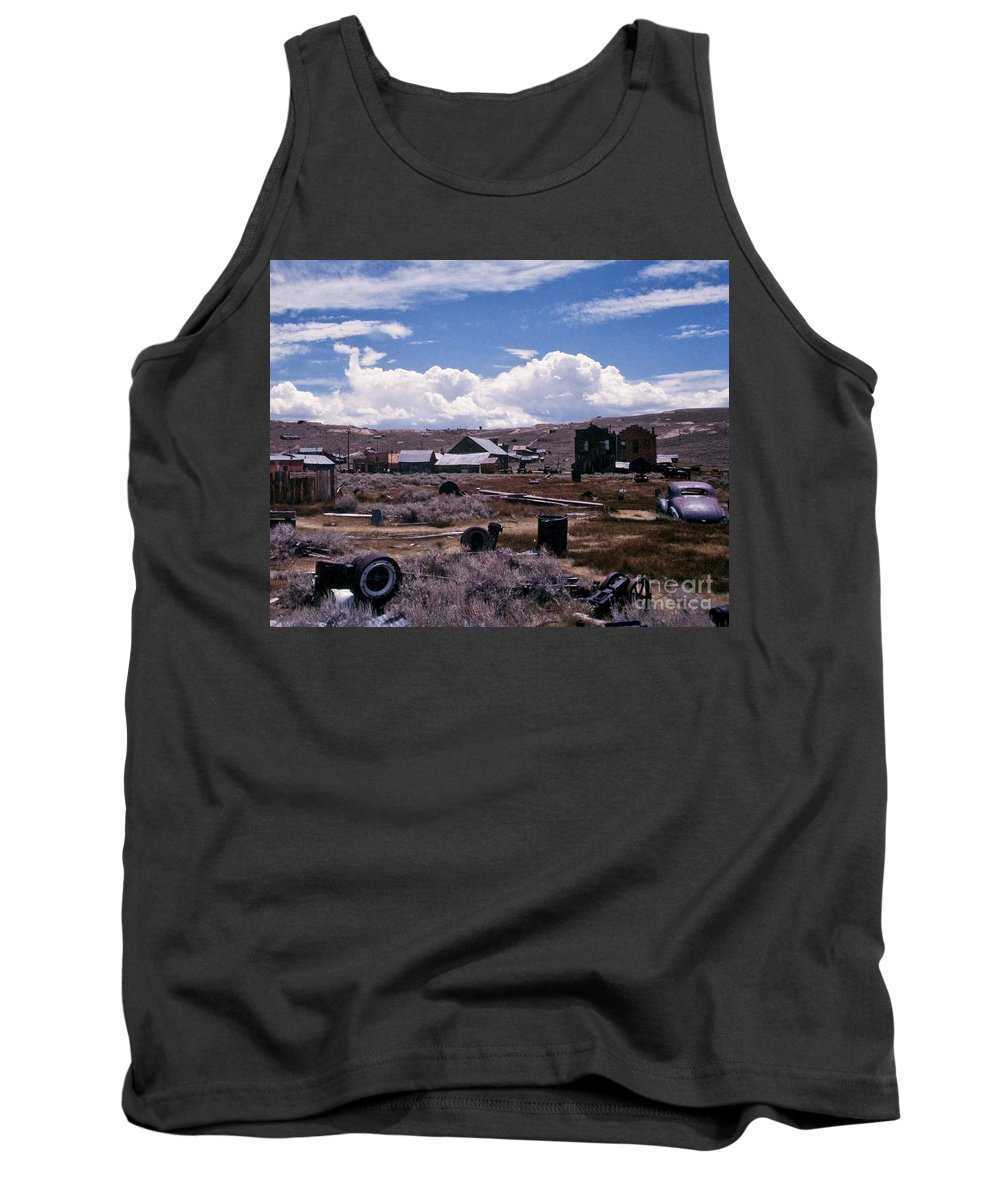 California Tank Top featuring the photograph Ruins Of Bodie by Stephen Whalen