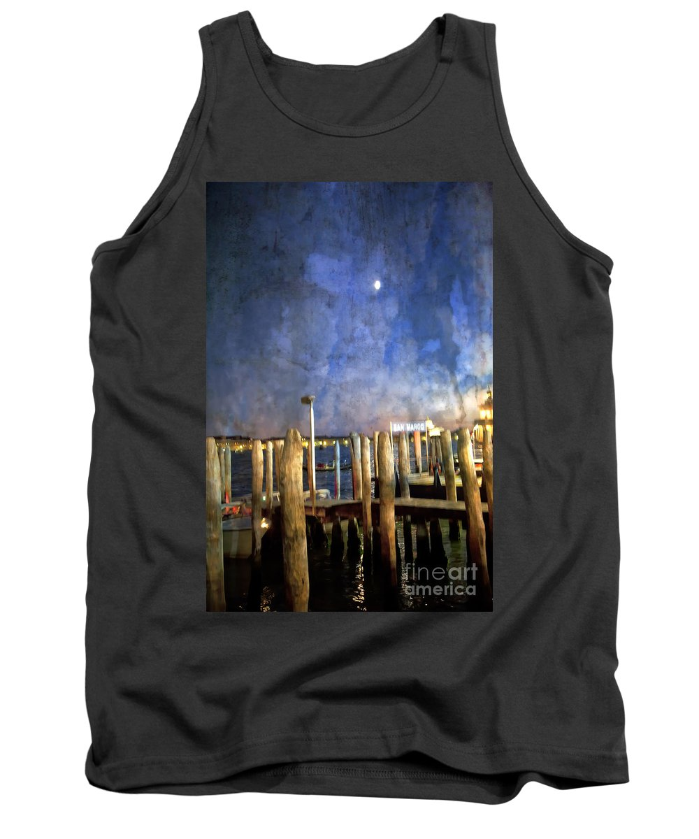 San Marco Tank Top featuring the photograph San Marco Dream by Madeline Ellis