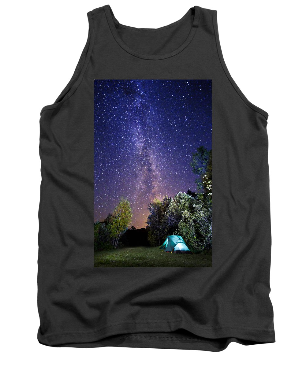 Camping Tank Top featuring the photograph September Night Sky by Mircea Costina Photography