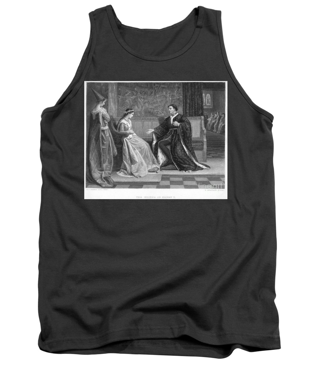 Elizabethan Tank Top featuring the photograph Shakespeare: King Henry V by Granger