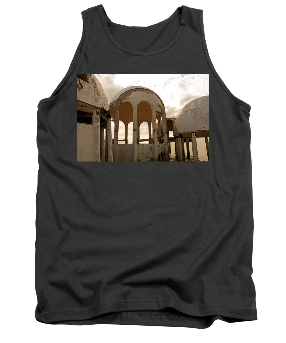 Bubble Houses Tank Top featuring the photograph Shell Of My Former Self by Christine Stonebridge