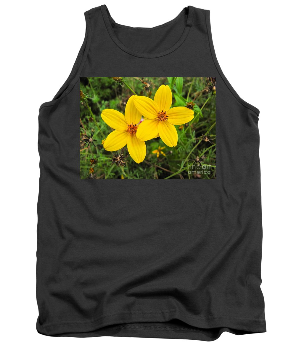 Photography Tank Top featuring the photograph Side By Side by Sean Griffin