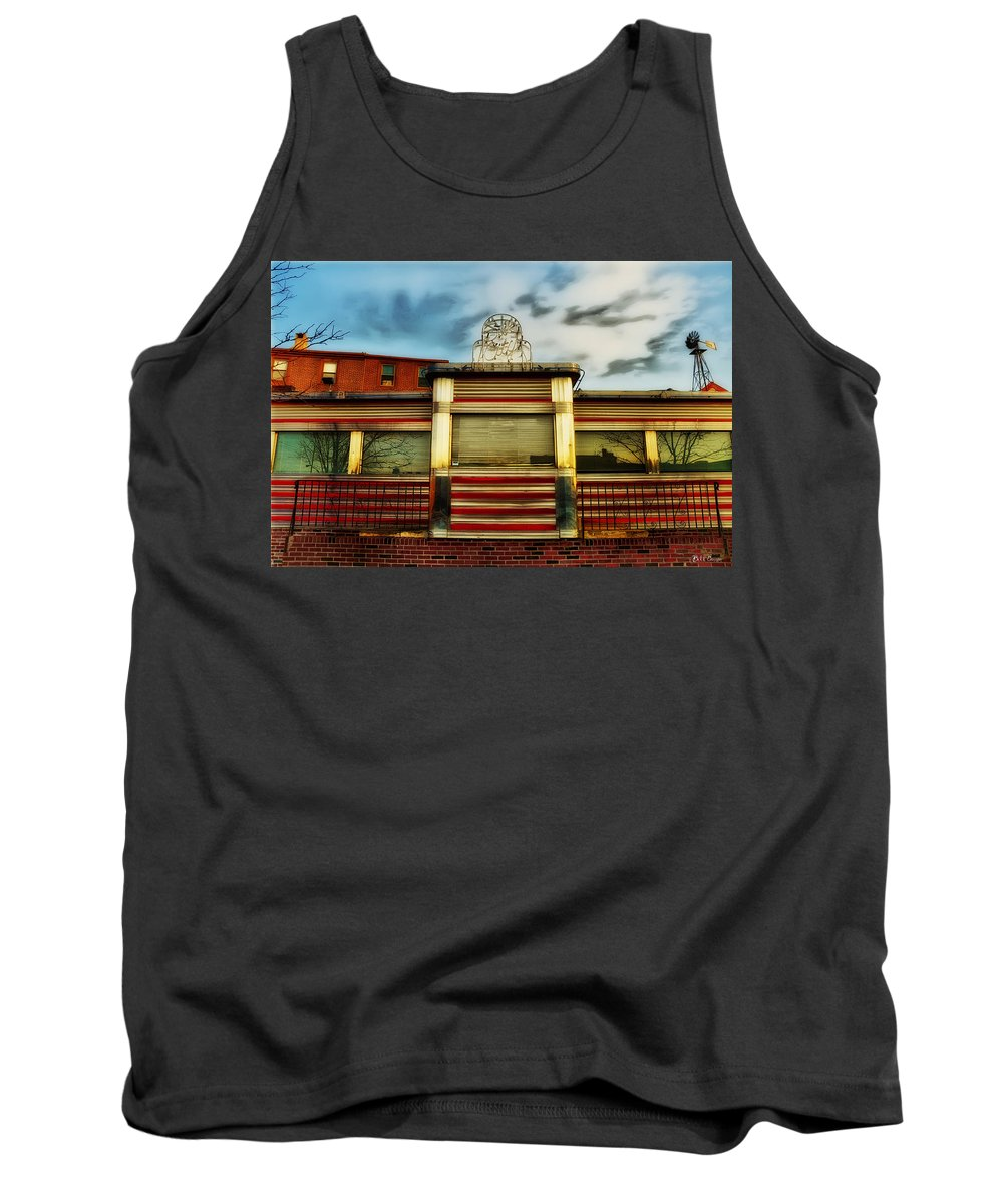 Silk City Lounge Tank Top featuring the photograph Silk City Lounge by Bill Cannon