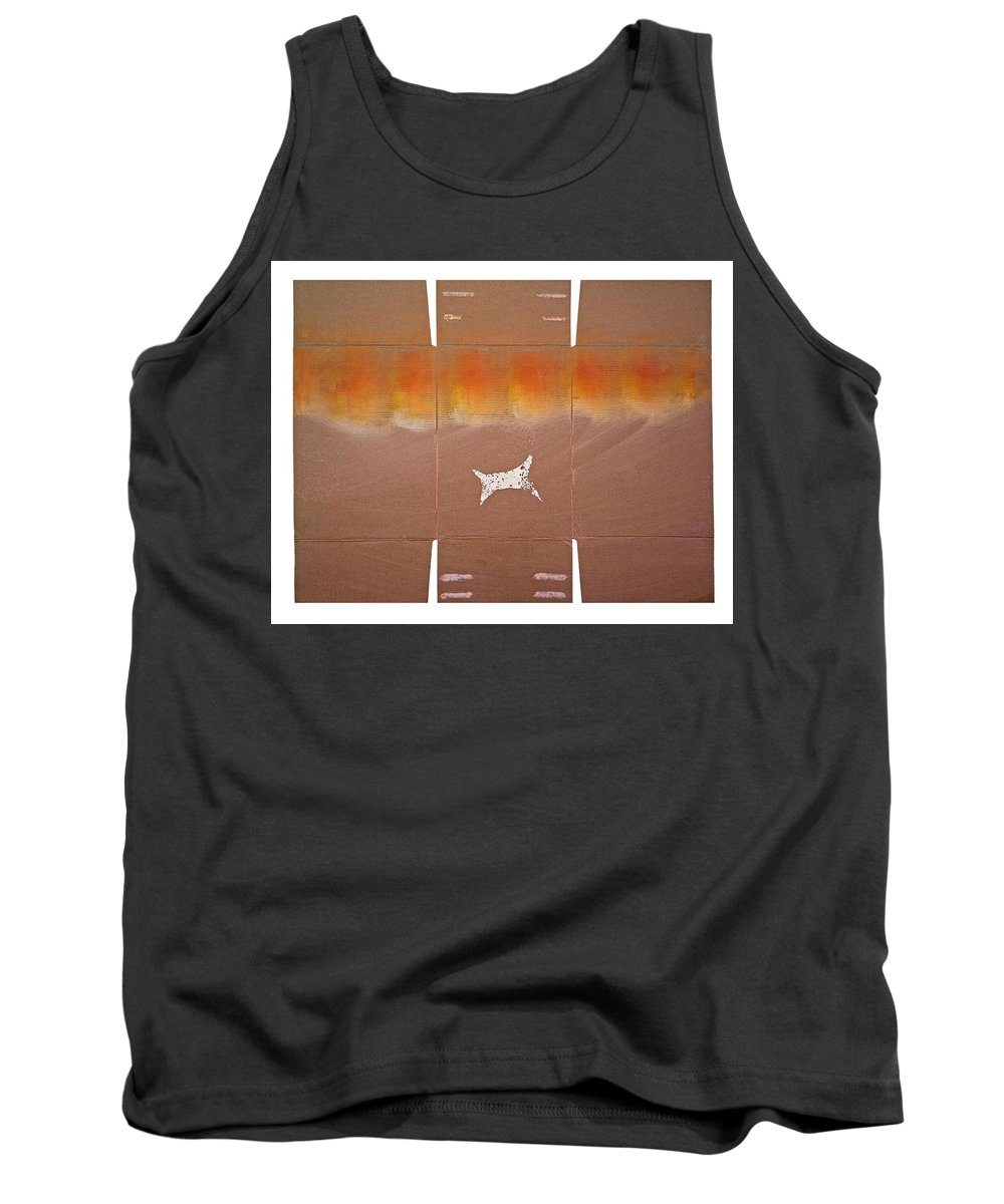 Sky Tank Top featuring the painting Sky Dive by Charles Stuart