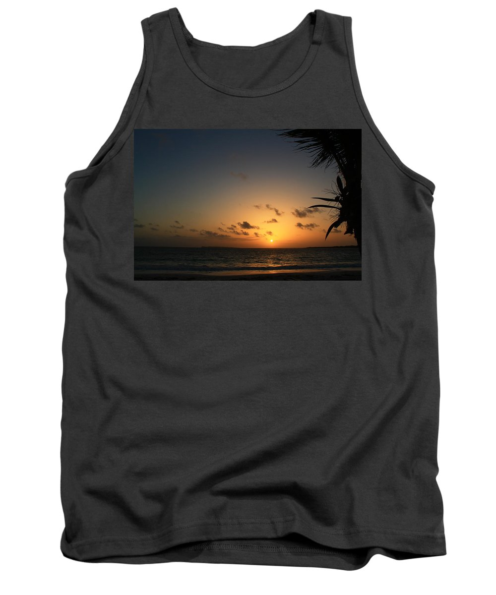 Sunrise Tank Top featuring the photograph So Nice by Catie Canetti