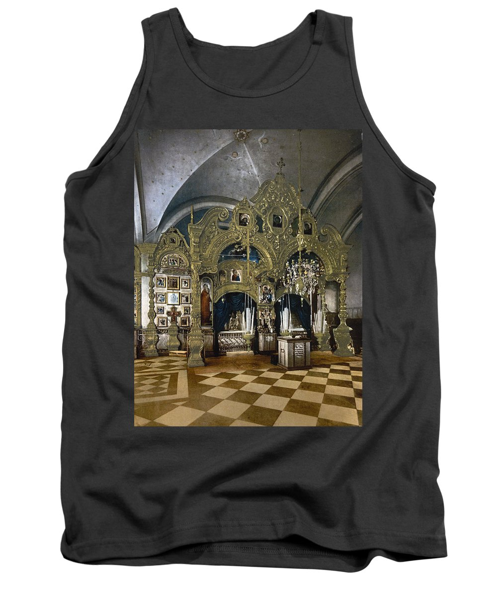 solovetsky Monastery Tank Top featuring the photograph Solovetsky Monastery On The Kola Peninsula - Russa - Ca 1900 by International Images