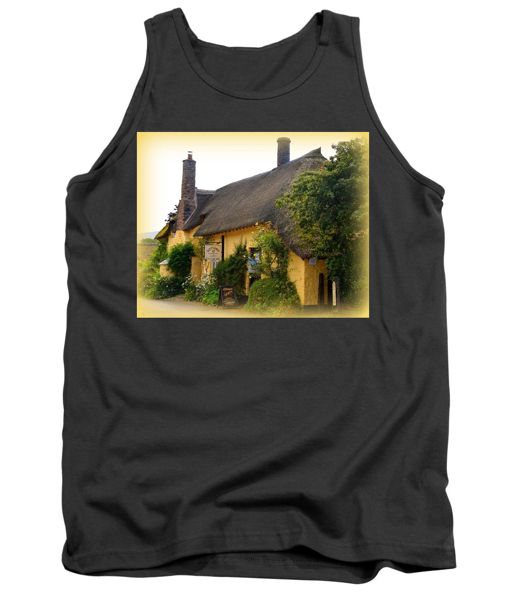 Kitnors Tank Top featuring the photograph Somerset Tea Room by Carla Parris