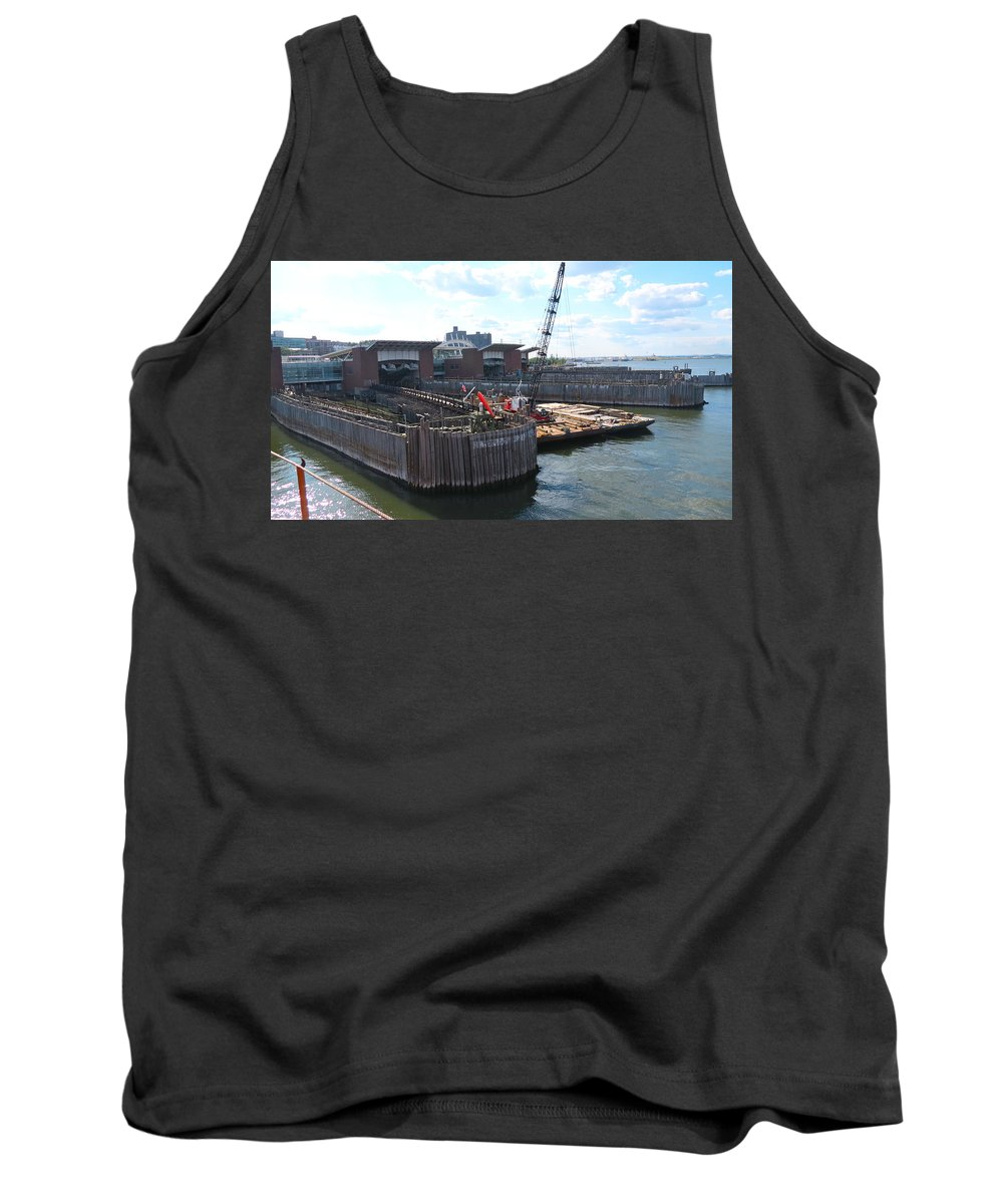 South Ferry Tank Top featuring the photograph South Ferry Water Ride23 by Terry Wallace