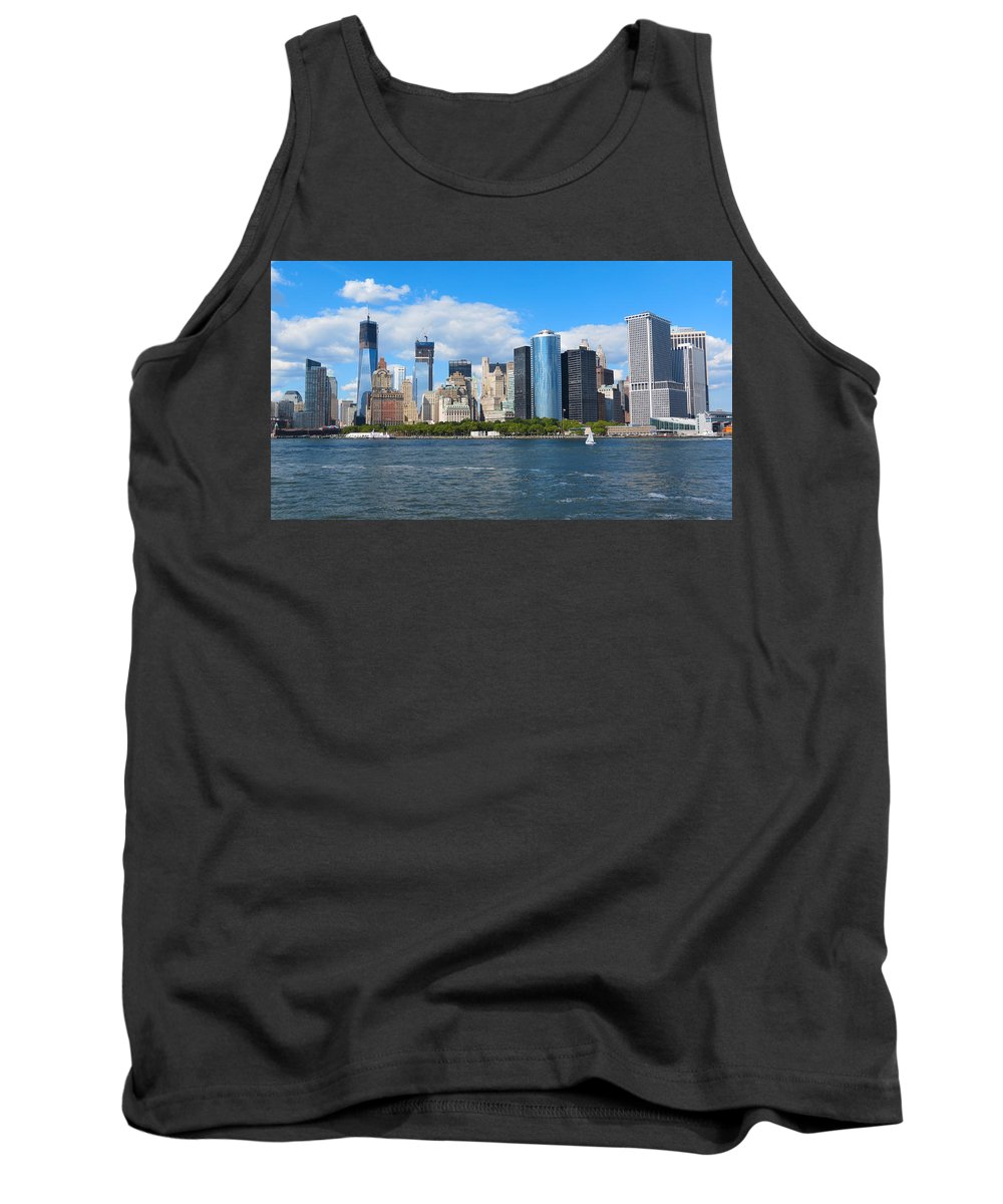 South Ferry Tank Top featuring the photograph South Ferry Water Ride5 by Terry Wallace