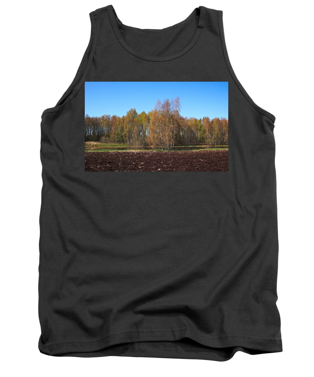 Isosuo Tank Top featuring the photograph Spring Colors by Jouko Lehto