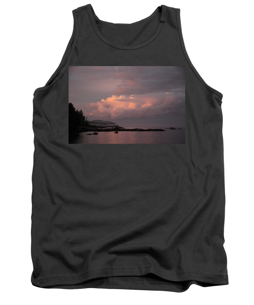 Tank Top featuring the photograph Storm Clouds At Sunset by Joi Electa