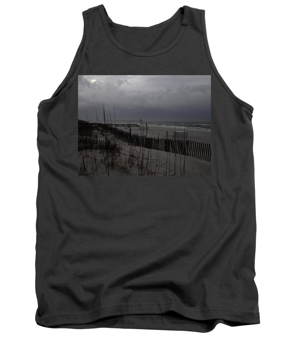Storm Tank Top featuring the photograph Stormy Weather Swp by Jim Brage