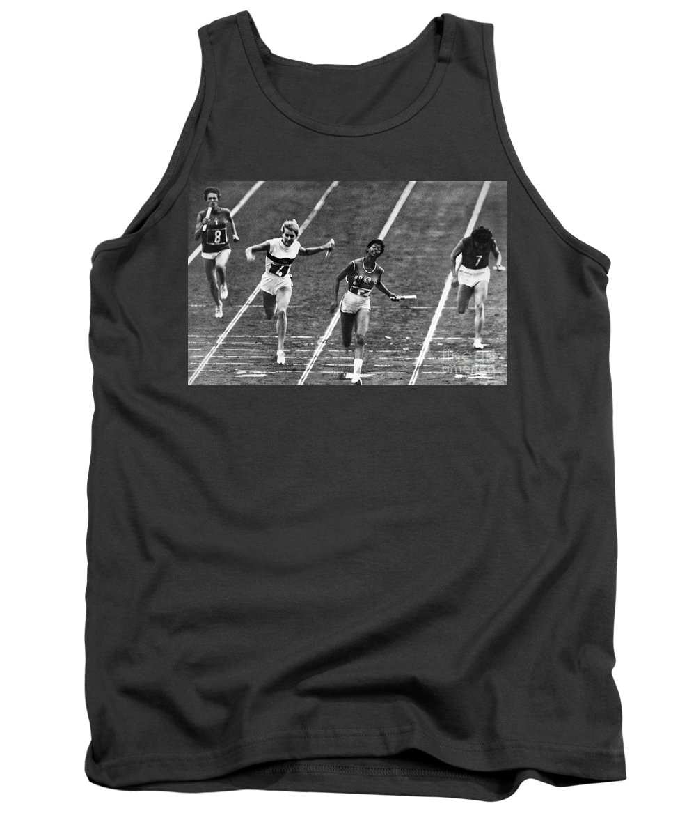1960 Tank Top featuring the photograph Summer Olympics, 1960 by Granger