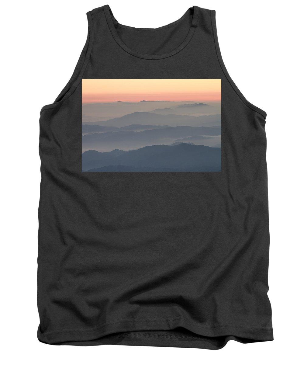 Sunrise Tank Top featuring the photograph Sunrise On Round Bald by Bill Swindaman