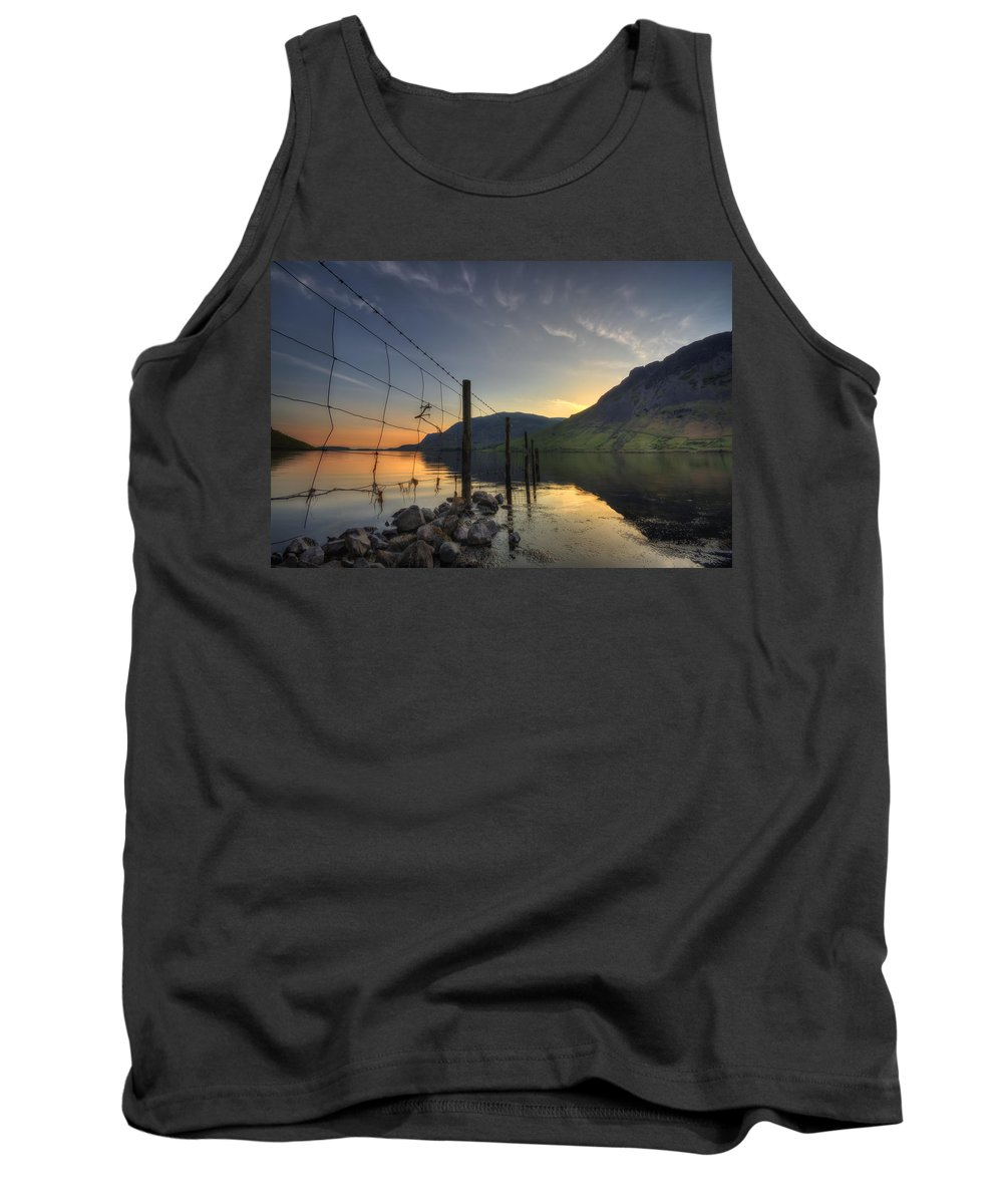 Wasdale Tank Top featuring the photograph Sweet Wave Of Sunset by Evelina Kremsdorf