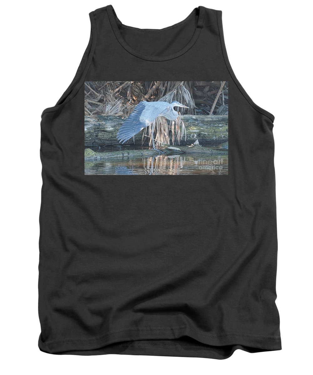 Wildlife Tank Top featuring the photograph Taking A Stretch by Deborah Benoit