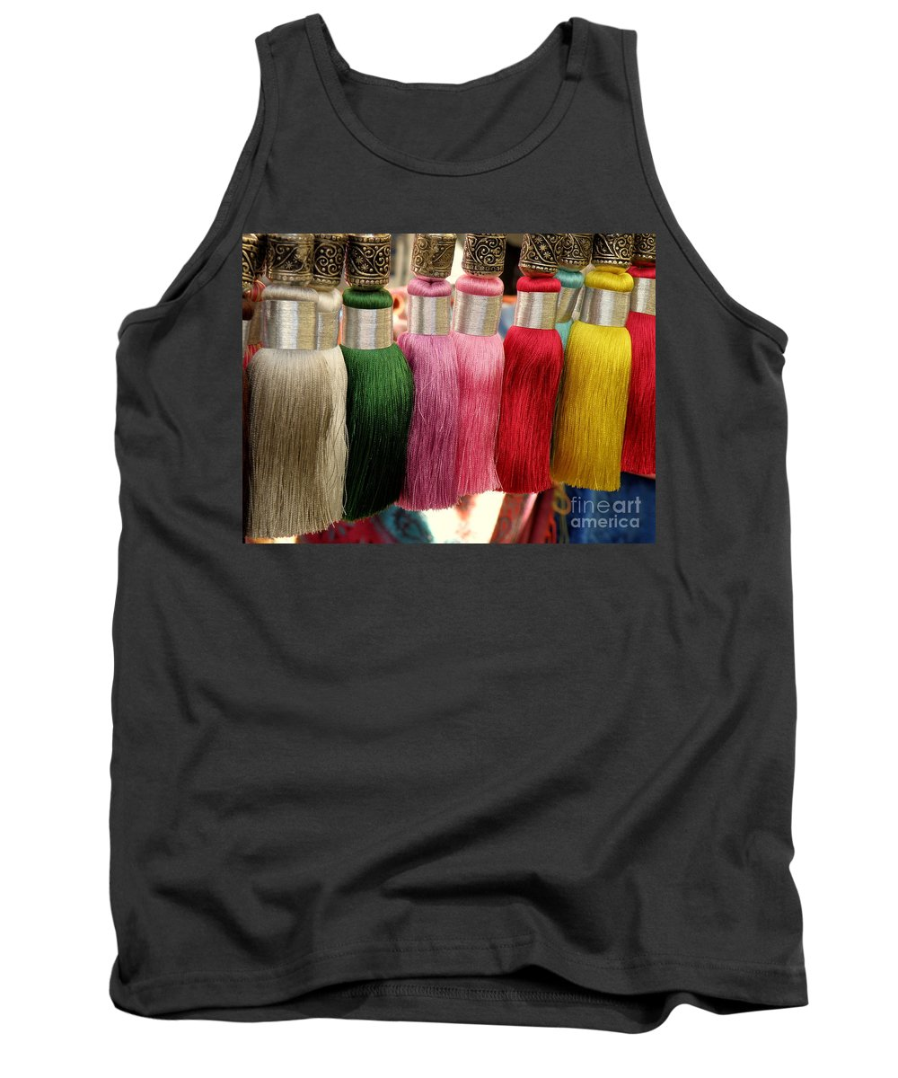 Tassels Tank Top featuring the photograph Tassels by Lainie Wrightson