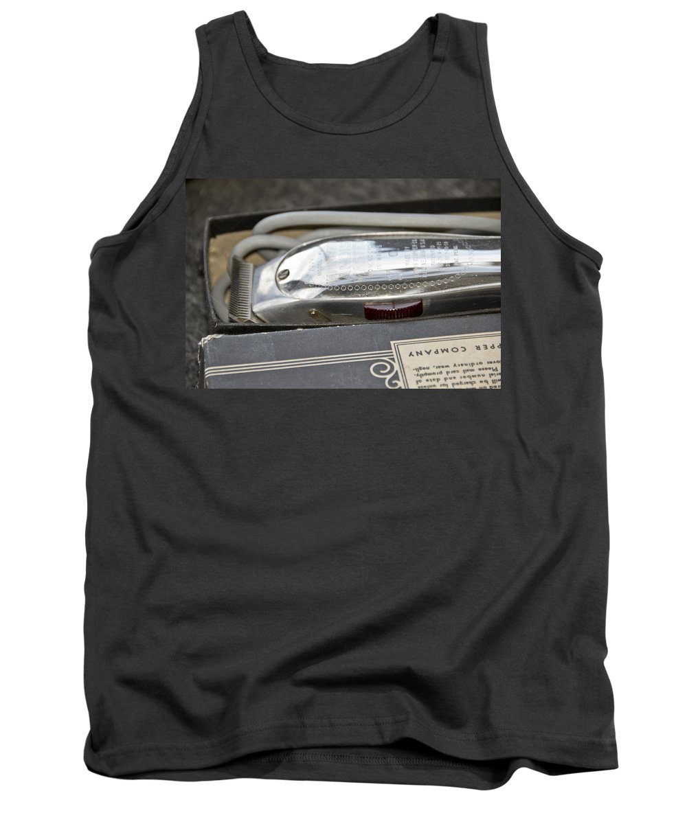 Barber Tank Top featuring the photograph The Barber Shop 9 by Angelina Vick