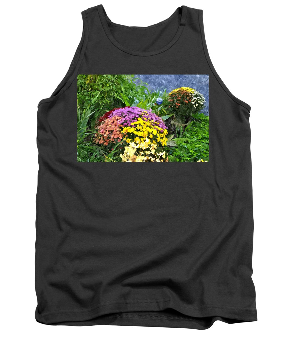 Flowers Tank Top featuring the digital art The Beauty Of Fall Bofwc by Jim Brage