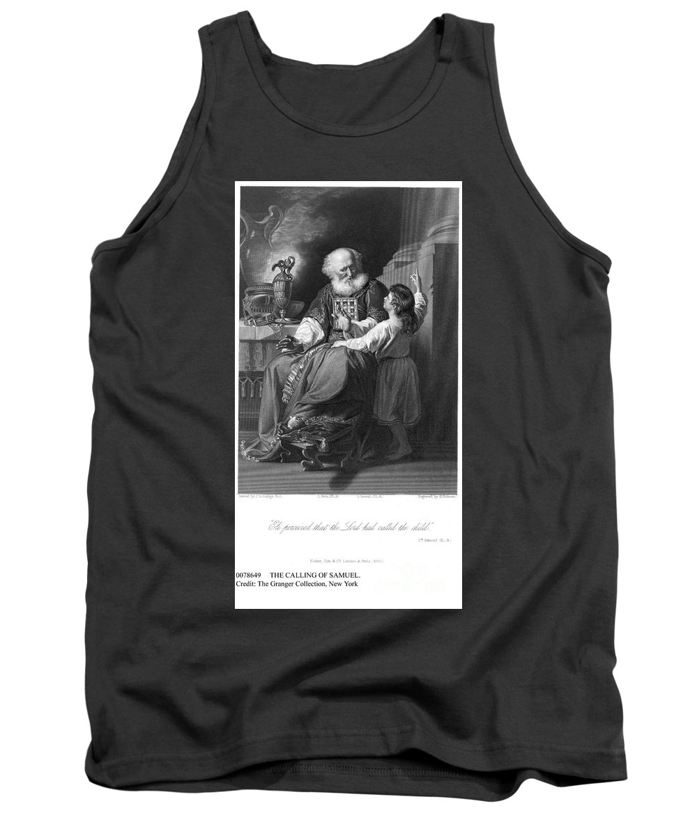 Beard Tank Top featuring the photograph The Calling Of Samuel by Granger