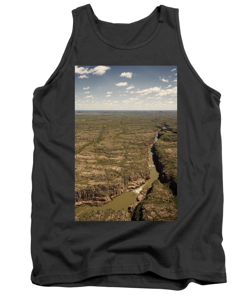 Katherine Gorge Tank Top featuring the photograph The Gorge by Douglas Barnard