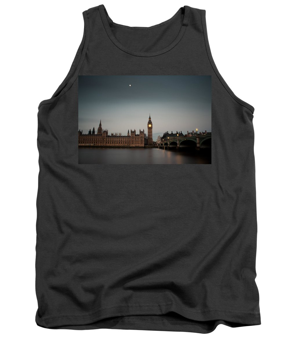 Houses Tank Top featuring the photograph The Houses Of Parliament by Andy Linden
