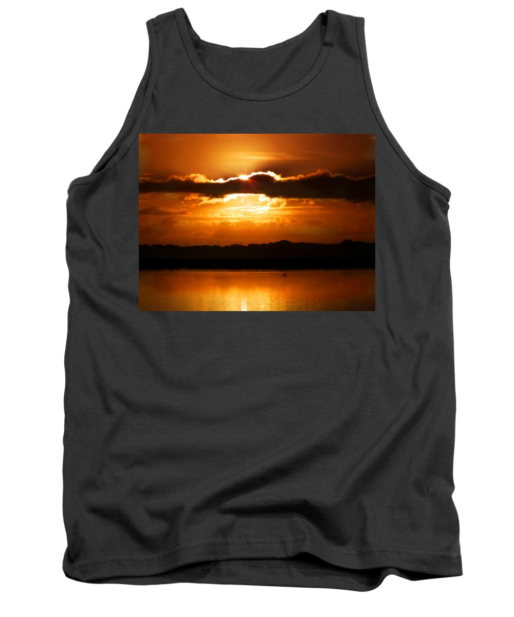 Sunrises Tank Top featuring the photograph The Magic Of Morning by Karen Wiles