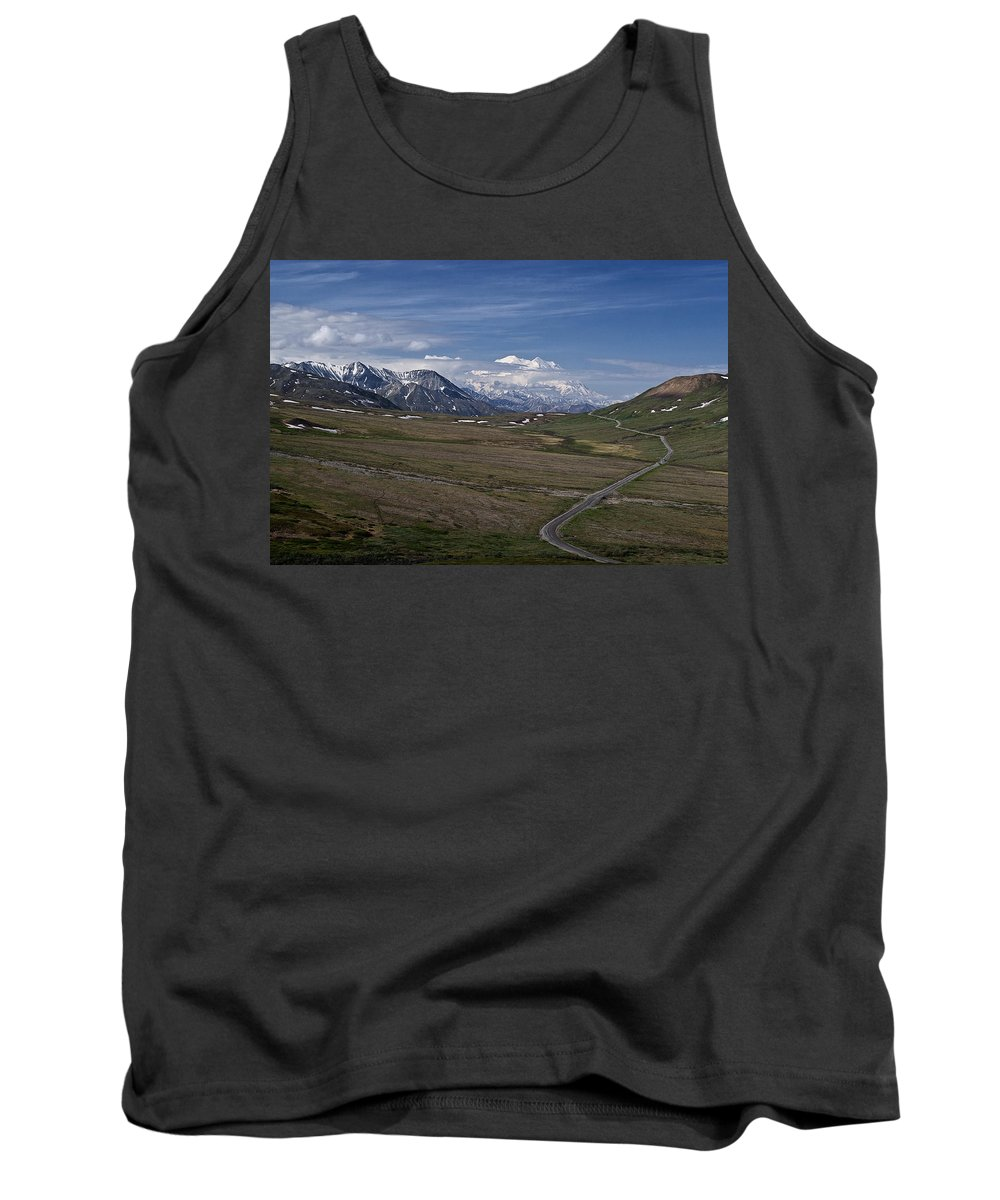 The Road To The Great One Tank Top featuring the photograph The Road To The Great One by Wes and Dotty Weber