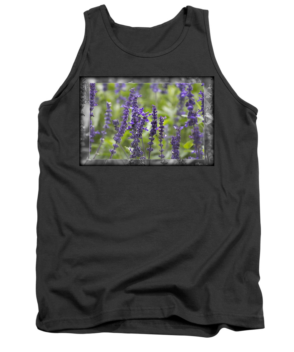 Smell Tank Top featuring the photograph The Smell Of Lavender by Douglas Barnard