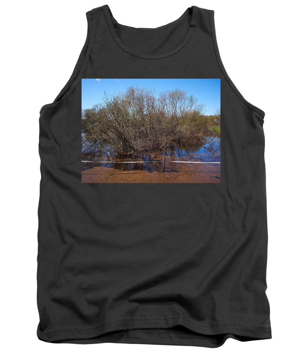 Isosuo Tank Top featuring the photograph The Spring Flood by Jouko Lehto