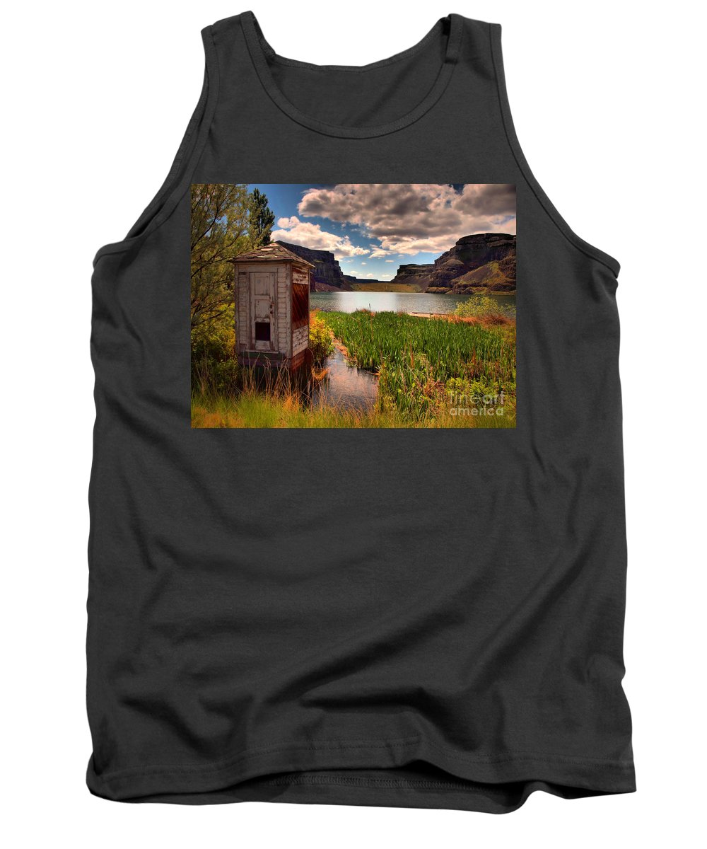 Shed Tank Top featuring the photograph The Water Shed by Tara Turner
