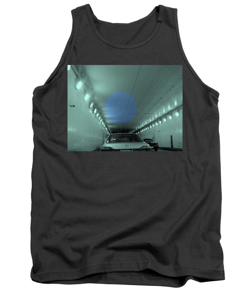 Tunnel Tank Top featuring the photograph Through The Tunnel by Kathleen Grace