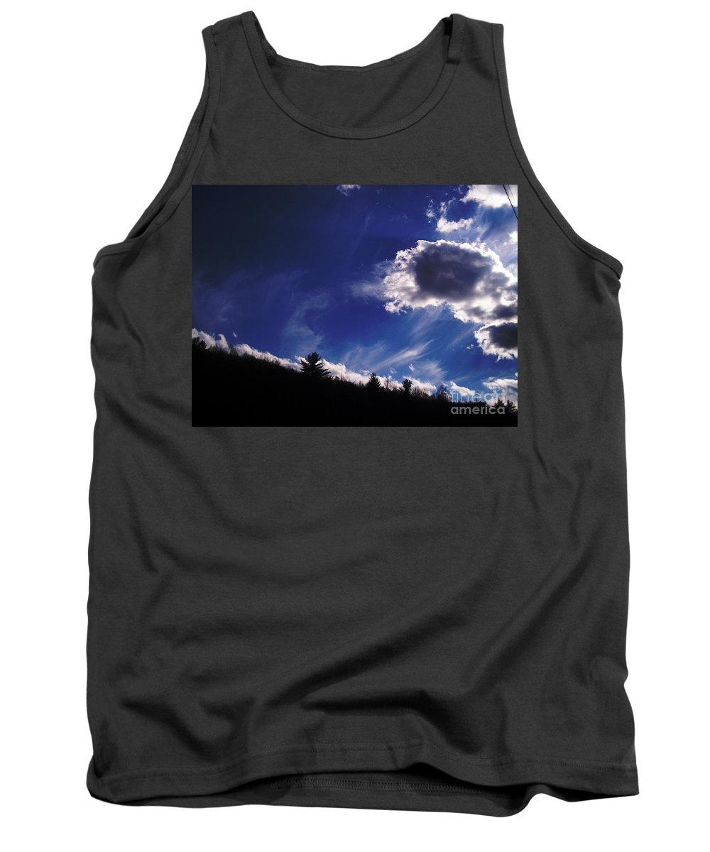 Tank Top featuring the photograph Timber Line by Valerie Roberts Jennings