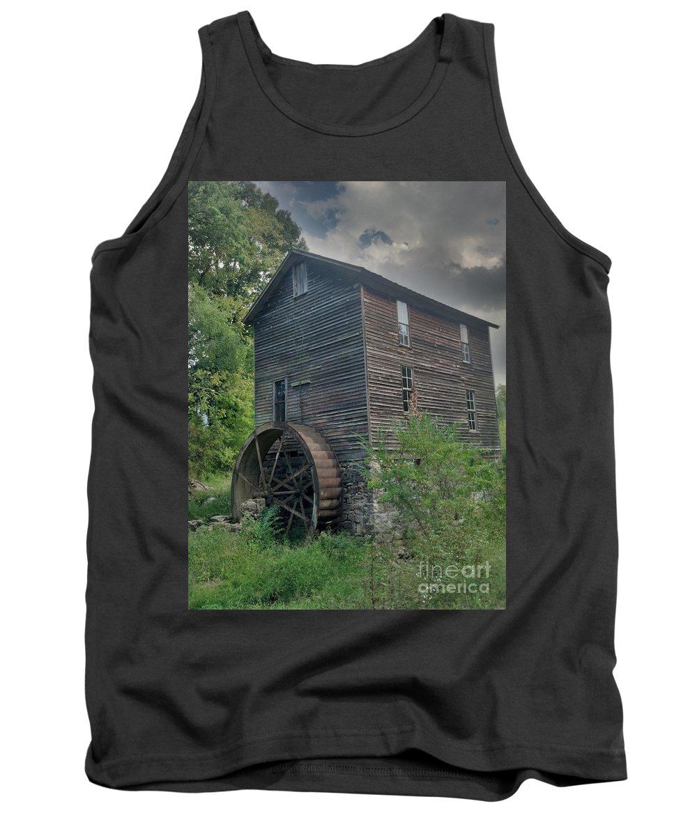 Rustic Tank Top featuring the photograph Times Forgotten by Janice Spivey