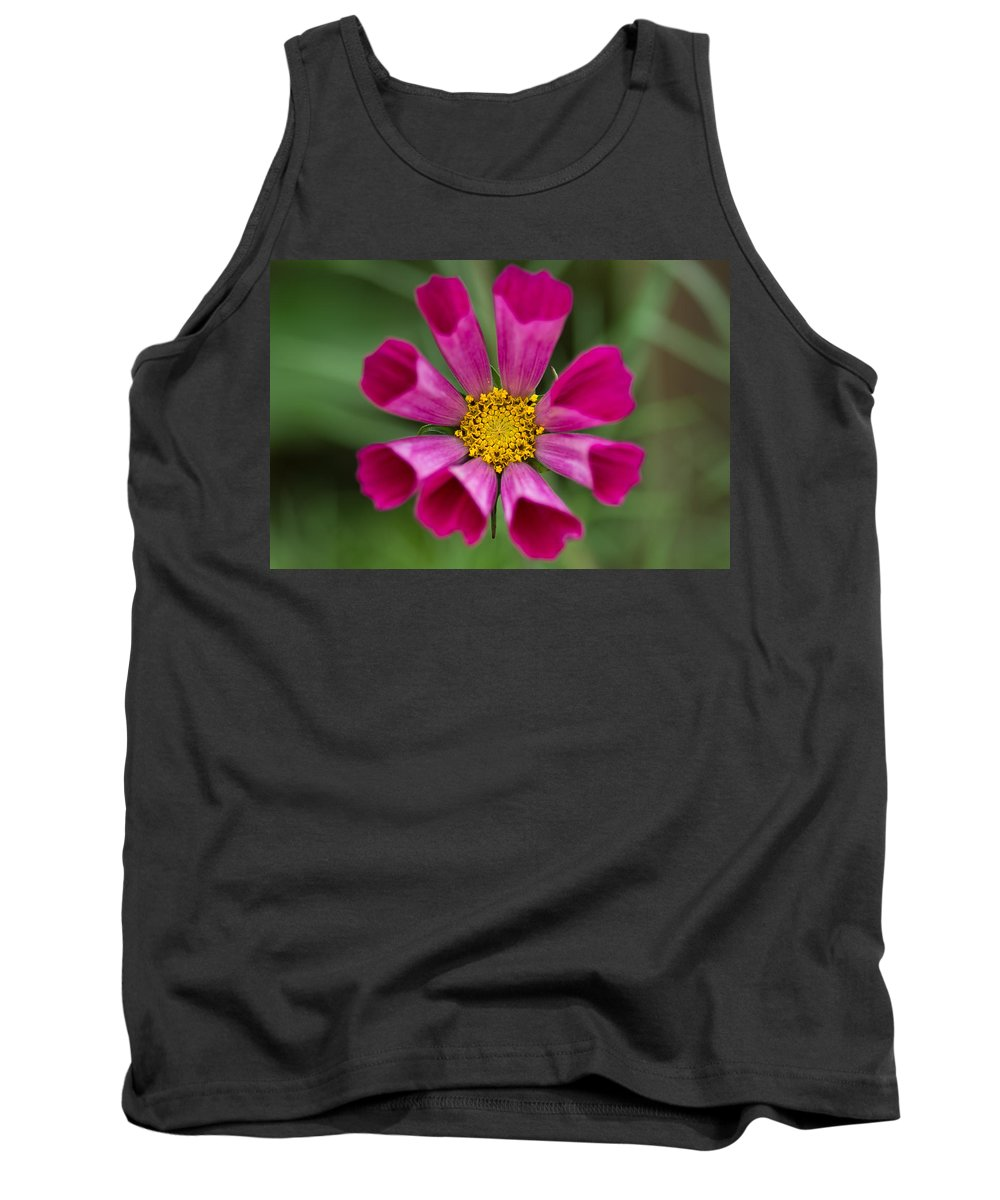 Flower Tank Top featuring the photograph Tubular Petals by Greg Nyquist