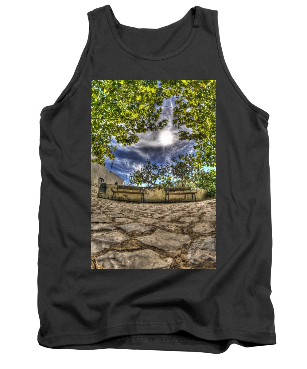 Algarve Tank Top featuring the photograph Two Seats by Nathan Wright
