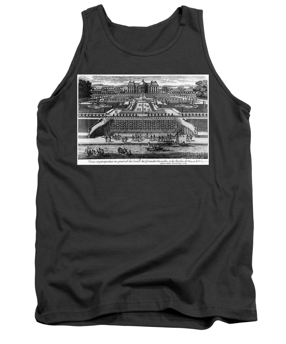 17th Century Tank Top featuring the photograph Vaux-le-vicomte by Granger