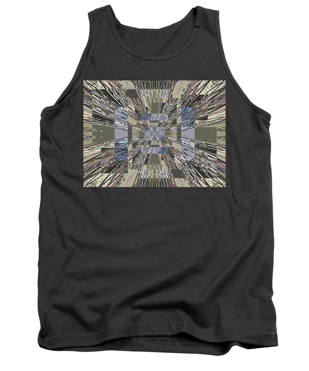Abstract Tank Top featuring the digital art Verve 5 by Tim Allen