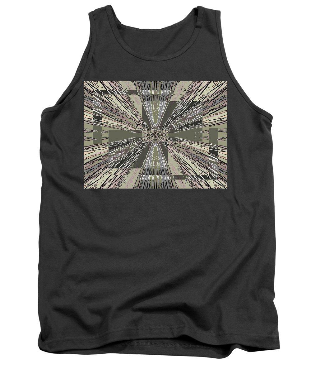 Abstract Tank Top featuring the digital art Verve 6 by Tim Allen