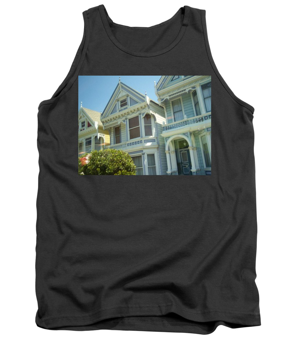Victorians Tank Top featuring the photograph Victorians by Pharris Art