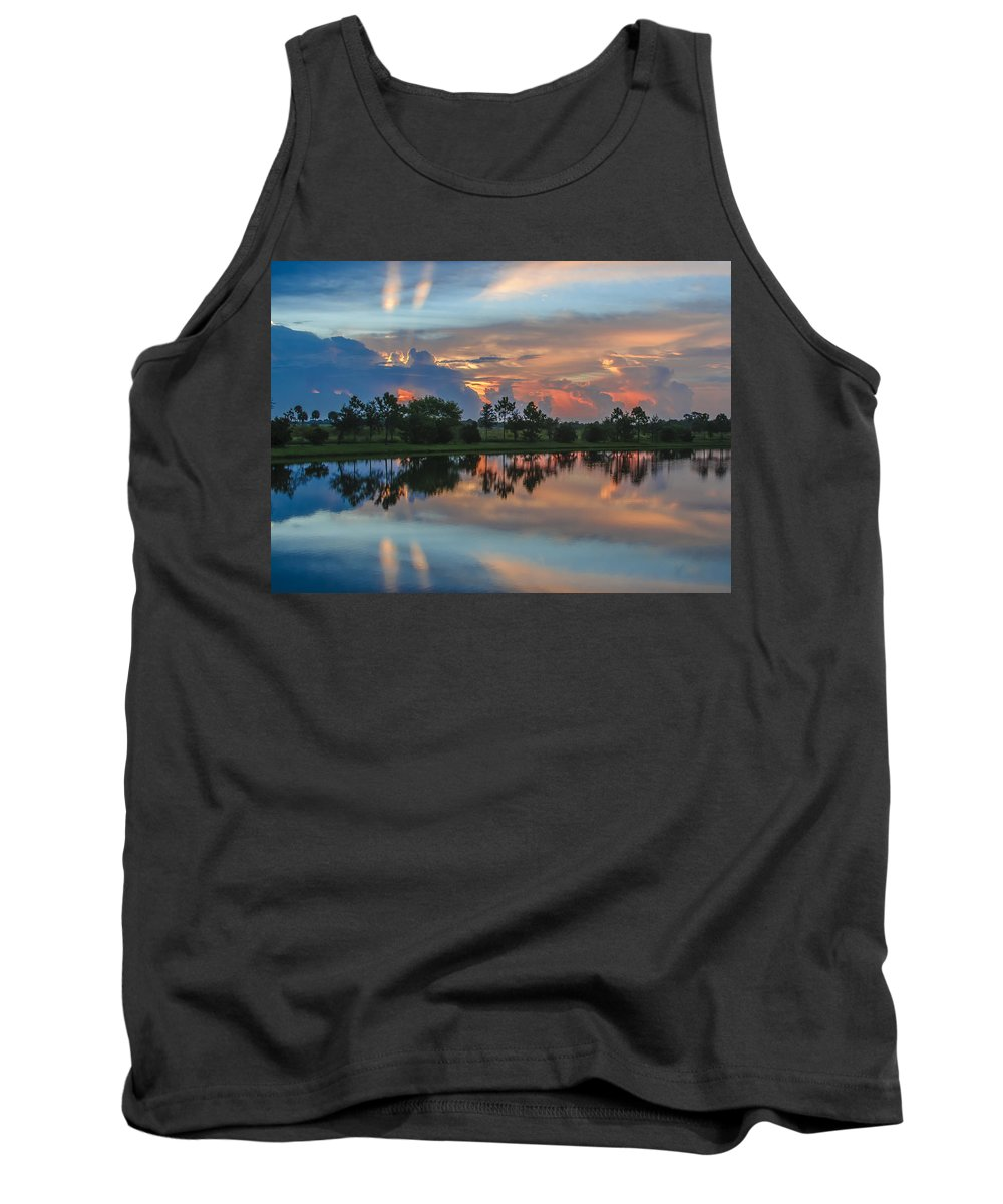Sunrise Tank Top featuring the photograph Viera Sunrise by Kenneth Blye