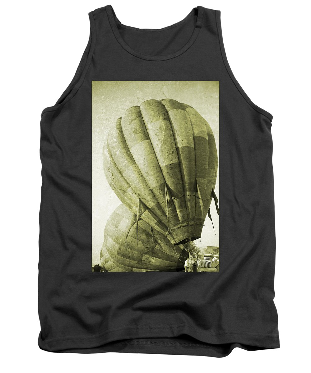 Vintage Tank Top featuring the photograph Vintage Ballooning II by Betsy Knapp