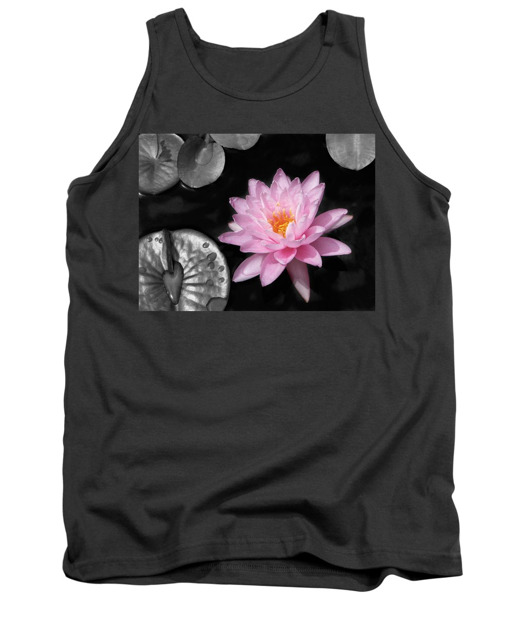 Dreaming Tank Top featuring the photograph Water Lily by Rudy Umans