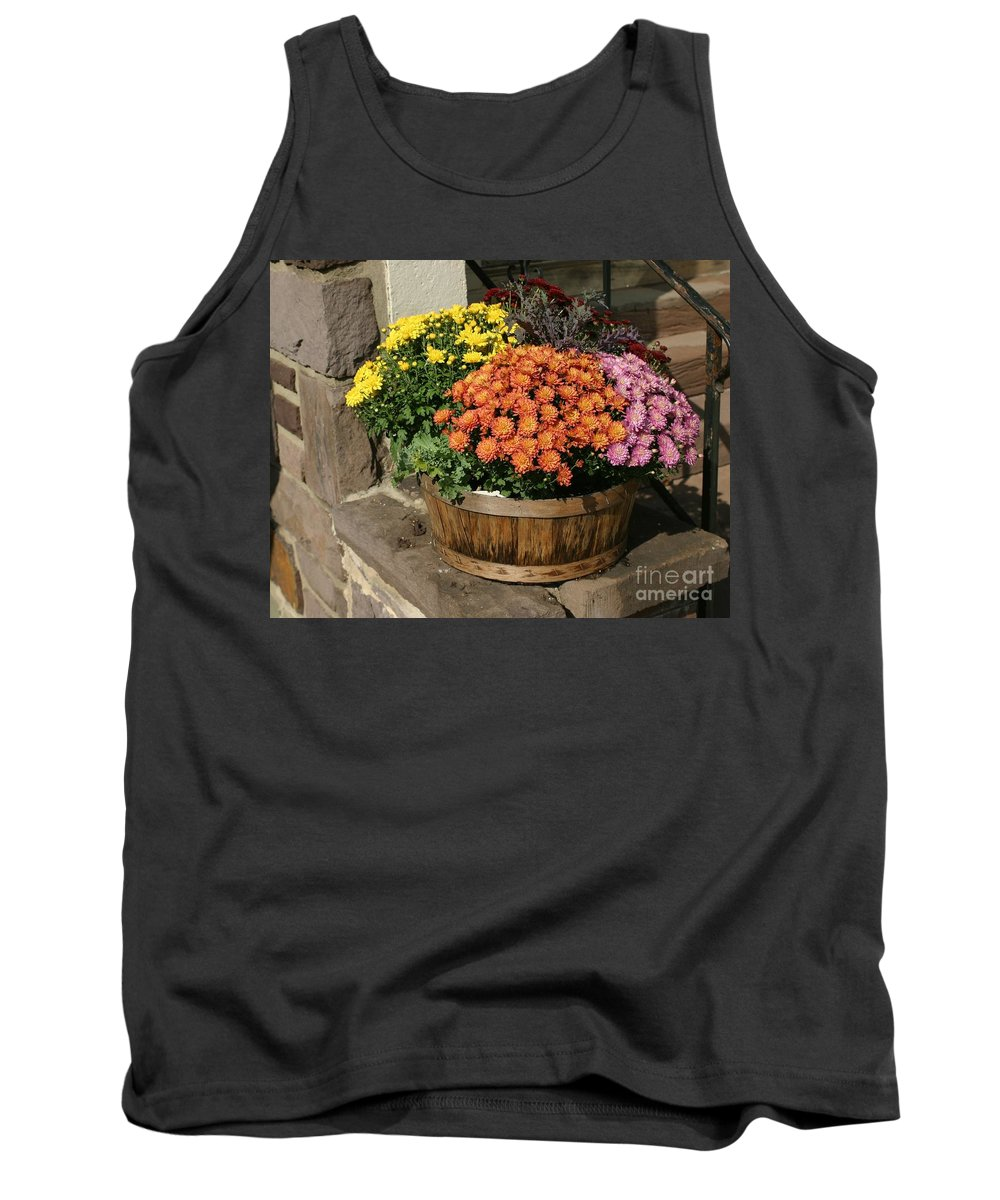 Entrance Tank Top featuring the photograph Welcome Steps by Living Color Photography Lorraine Lynch