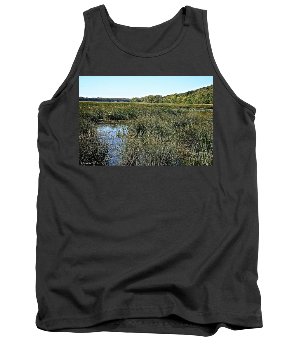 Outdoors Tank Top featuring the photograph Wetlands by Susan Herber